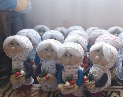 اسباب بازی فروشهاوصنایع دستی..عروسک ننه سلما